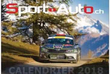 Soutenez Sport-Auto.ch en achetant notre calendrier 2018 !