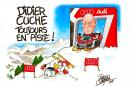 Histoire d'en rire… Didier Cuche toujours en piste !