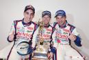 WEC – Le duo Suisse de la Toyota N°8, Buemi et Lapierre, heureux et fiers après leur victoire.
