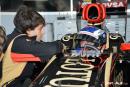 F1 – Fabio Leimer au volant de la Lotus F1