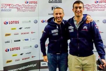 WRC –  Federico Della Casa en Pologne en Junior WRC