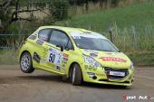 Rallye – Podium multinational au Rallye de Bourgogne – Olivier Burri 2e