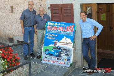 Présentation de la 6e édition de Ollon-Villars Historic Hillclimb