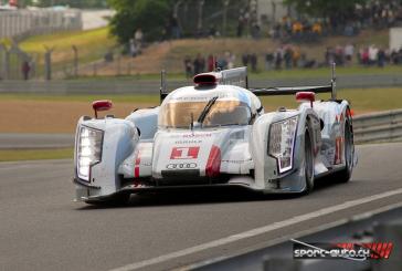 24 Heures du Mans: 4 Audi en tête à 8 heures!