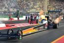 NitrOlympX de Hockenheim: Noah Stutz sur le podium en Top Fuel !