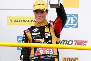 ADAC Formel Masters – Ralph Boschung monte sur le podium à Oschersleben