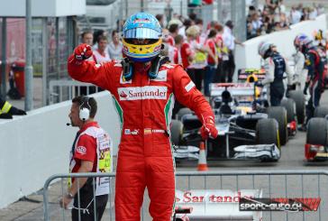 F1- GP d'Allemagne– Alonso en Patron