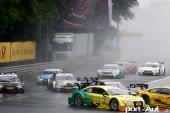 DTM – Edoardo Mortara au pied du podium, course difficile pour Nico Müller