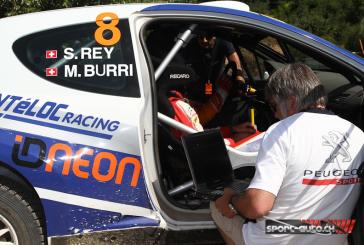 IRC – Rallye de Roumanie – Michael Burri en galère