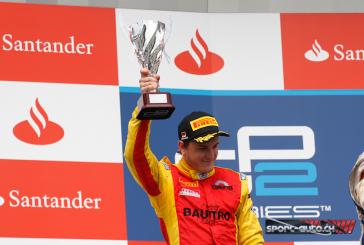 GP2 – Hockenheim – Fabio Leimer 2ème et 4ème