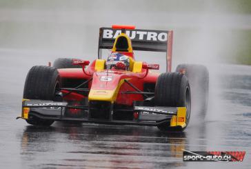 """GP2 – Pole position """"humide""""  pour Fabio Leimer"""