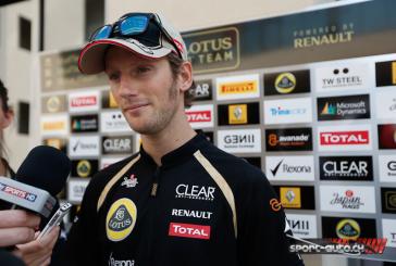 F1- Grosjean : «Une victoire incroyable pour Lotus»
