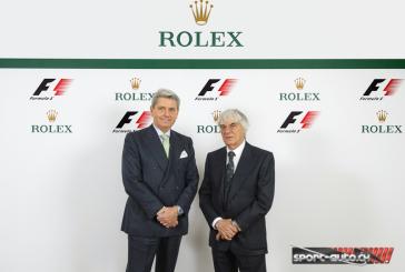 Rolex devient chronométreur officiel de la F1