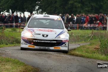 IRC – Florian Gonon au départ du Barum Rally