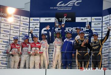 WEC – 6h de Fuji – Rebellion suit le safety car jusqu'au podium