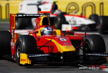 GP2 – nouveau podium pour Fabio Leimer