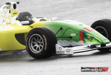 Formule 2 – Superbe victoire de Tuscher sous la pluie