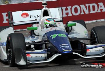 IndyCar – Fantastique course de Simona de Silvestro