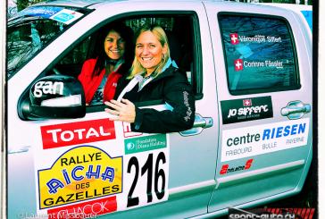 Véronique Siffert du Mans au Rallye des Gazelles