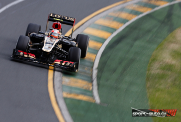 F1- GP d'Australie – Grosjean et Sauber à la peine