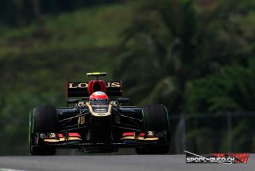 F1 – GP de Malaisie sous haute tension, Grosjean 6ème