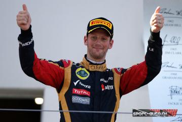 F1 – GP d'Allemagne – Grosjean renoue avec le podium