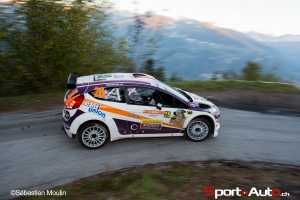 Laurent Vukasovic  – Steve Groux / Ford Fiesta R5 (RIV 2014)