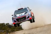 Bestzeiten und Top-5-Ergebnis für Hyundai bei WM-Rallye in Mexiko