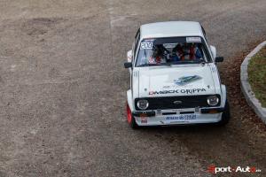 Eddy et  Florence Bérard - Ford Escort Mk2 Rallye du Pays du Gier 2015