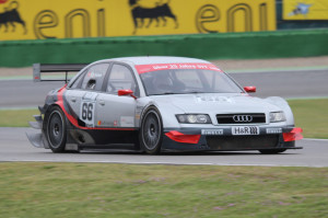 Ey Kamm im ex DTM Audi
