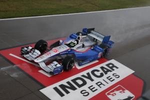 C'est le 4e TOP 5 de Simona de Silvestro en IndyCar