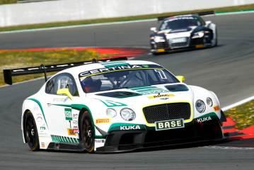 Bentley mit Doppel-Pole beim ADAC GT Masters-Debüt, Rahel Frey 12.