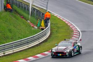 48 : Dr. Florian Kamelger ; Aston Martin GT12 : abandon