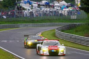 4 : Marcel Fässler ; Audi R8 LMS : abandon