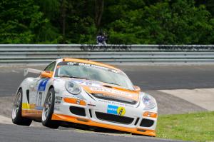 79: Klaus Bauer; Porsche Cayman R : abandon