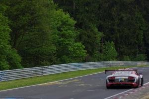 14 : Ronnie Saurenmann ; Audi R8 LMS Ultra : abandon