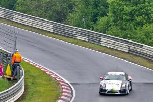 178 : Christian Raubach ; Porsche Cayman : abandon