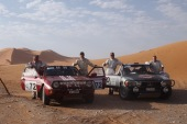 Rallye du Maroc Historique : 3 équipages suisses sur le sable – la passe de 2 pour Munster