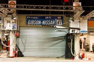 Le box du Greaves Motorsport sera malheureusement un des premier à baisser son rideau