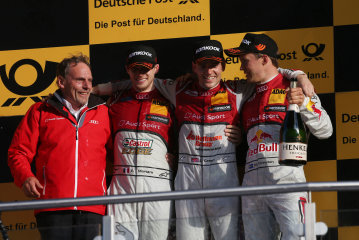 DTM – Edoardo Mortara on the Podium in Lausitzring