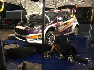 Laurent Vukasovic et Steve Groux (Ford Fiesta R5)