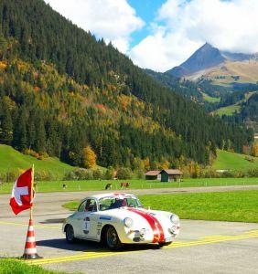 Armin Labhart (Porsche 356 Super 90), vainqueur du Jo Siffert Challenge.