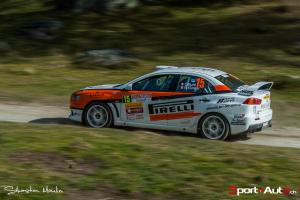 2e : Burri Olivier - Klinger Nicolas (Mitsubishi Lancer Evo X)