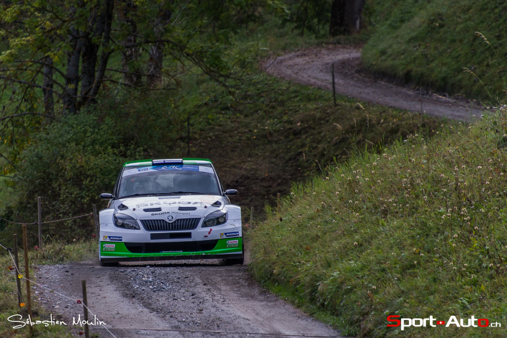 1er : Lappi Esapekka - Ferm Janne (Škoda Fabia S2000)