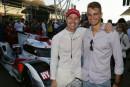 Nico Müller en visite à la finale du WEC à Bahreïn… et au karting de Lyss