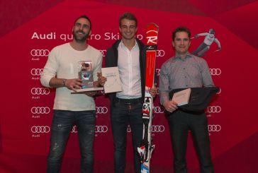 Nico Müller besucht Audi quattro Ski Cup