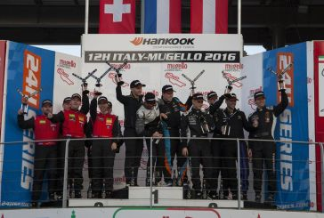 Les Suisses sur le podium des 12h du Mugello