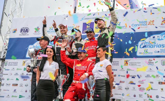 ERC – Alexey Lukyanuk  remporte le Rally Islas Canarias, Federico Della Casa abandonne