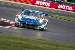 Car # 78 / KCMG / HKG / Porsche 911 RSR / Christian Ried (DEU) / Wolf Henzler (DEU) / Jo'l Camathias (CHE) - WEC 6 Hours of Silverstone - Silverstone Circuit - Towcester, Northamptonshire - UK
