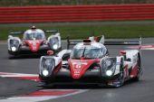 Podium start at Silverstone for Toyota Gazoo Racing